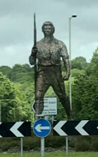 The Chartist Statue on