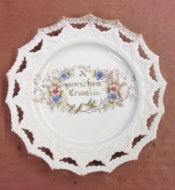 Plate from Crumlin